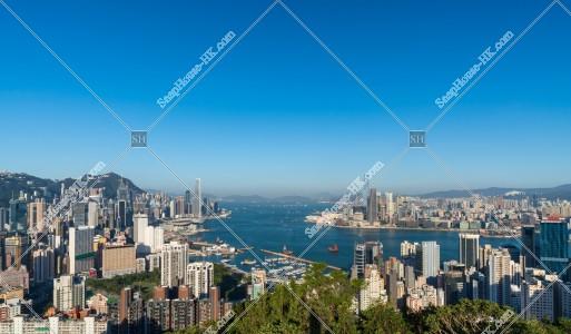 九龍半島と香港島の風景 その①