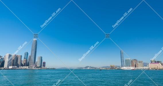 九龍半島と香港島の風景 その⑥