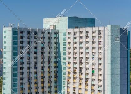 觀塘 公共住宅 順安邨の住宅マンション