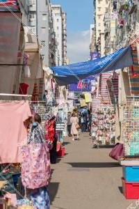 旺角 女人街(通菜街) その⑦