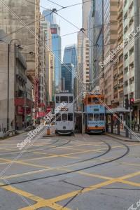 上環 德輔道中の街並みと香港トラム その⑨