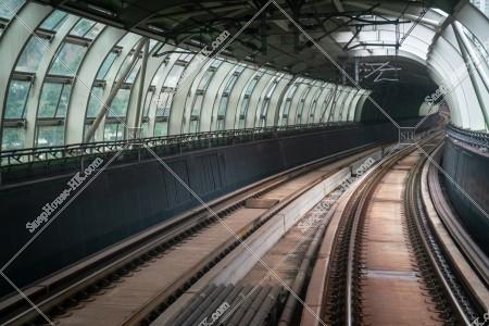 南港島線の線路 その⑧