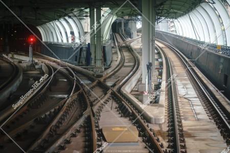 南港島線の線路 その⑨