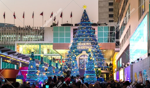 尖沙咀 クリスマスライトアップ その①
