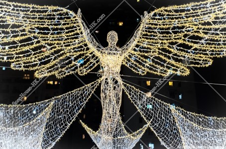 灣仔 利東街のクリスマスライトアップ その④