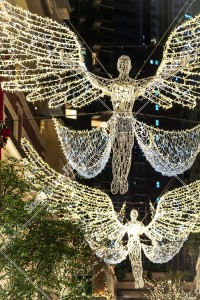 灣仔 利東街のクリスマスライトアップ その⑲