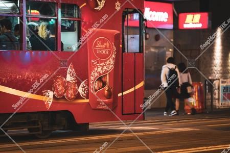 灣仔 夜の香港トラム その⑥