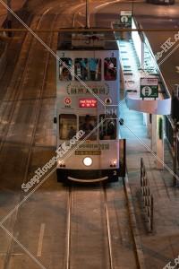 灣仔 夜の香港トラム その⑦