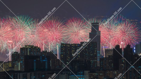 2019年1月1日 新年の花火 その⑤