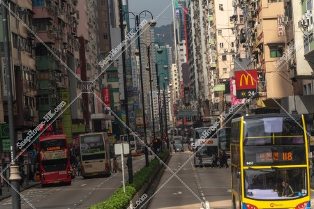 佐敦 彌敦道(ネイザンロード)の街並みの風景 その⑨