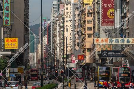 佐敦 彌敦道(ネイザンロード)の街並みの風景 その⑪