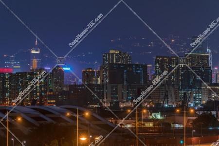 土瓜灣の街の夜景 その③