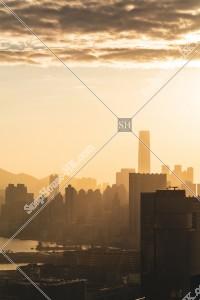 夕方の九龍の街並みの風景 その④