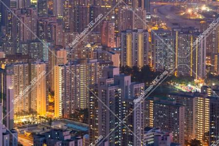 九龍東の街並みの夜景 その④