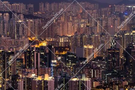 九龍東の街並みの夜景 その⑤