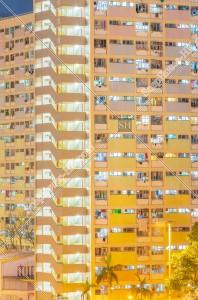 彩虹 夜の公共住宅「彩虹邨」 その④