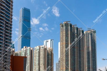 西九龍の街並みの風景 その①