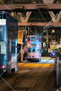 銅鑼灣 夜の香港トラム その⑤
