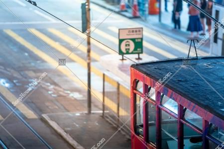 銅鑼灣 夜の香港トラム その⑦