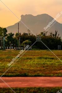 獅子山と公園 その①