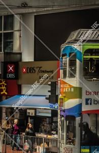 北角の街並みと香港トラム その⑪