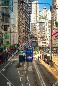 炮台山の街並みの風景と香港トラム その④