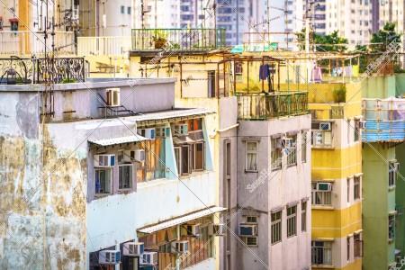 鴨脷洲の街並みの風景 その⑩
