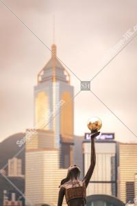尖沙咀 アベニュー・オブ・スターズ 香港映画の銅像