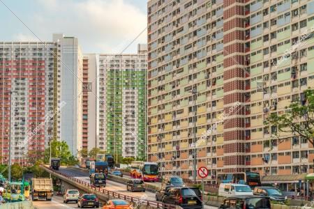 彩虹 公共住宅「坪石邨」と「彩虹邨」