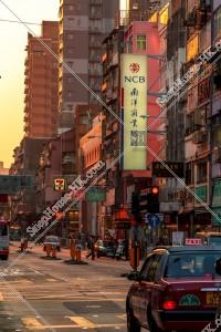 九龍城の夕方の街並み その⑨