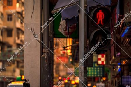 九龍城の夕方の街並み その⑭
