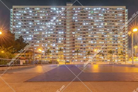 彩虹 夜の公共住宅「彩虹邨」 その⑩