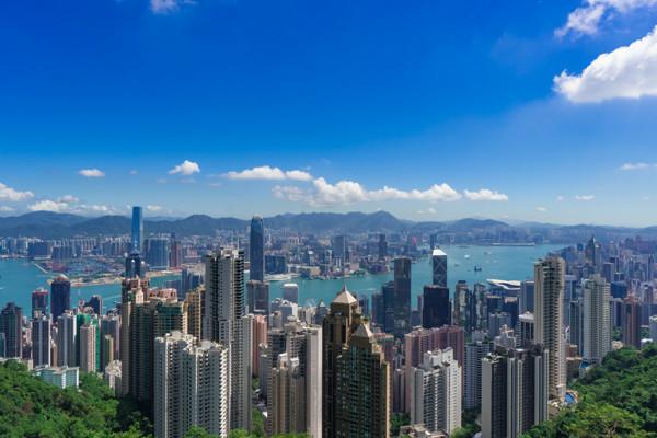 香港パノラマ風景